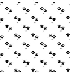 Cat step pattern seamless vector