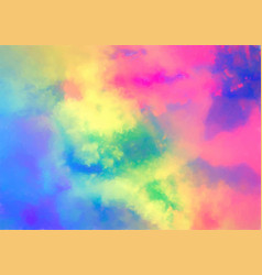 Colourful watercolour texture vector