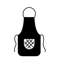 Cook apron isolated icon vector