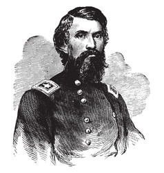 General john buford vintage vector