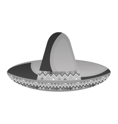 mexican hat culture element vector image