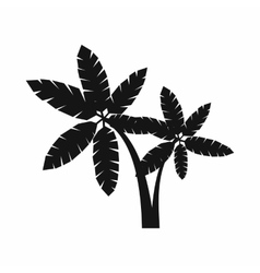 Palma icon simple style vector