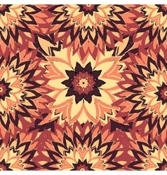 flowers in vintage colors in sketch style vector image vector image