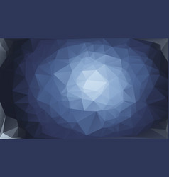 abstract color polygon background design vector image