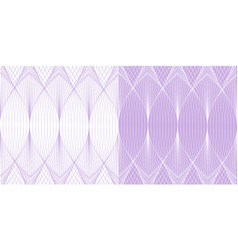 abstract line art background pattern in pur vector image