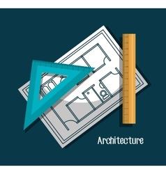 Architecture project design vector