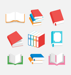 Book perfect for logo or icon education vector