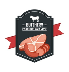 Butchery house vector