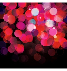 Colorful lights background vector image