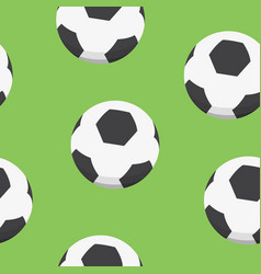 Sport background design soccer balls vector