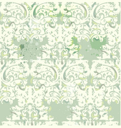 vintage retro texture pattern floral vector image