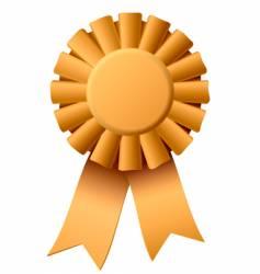 award ribbon vector image