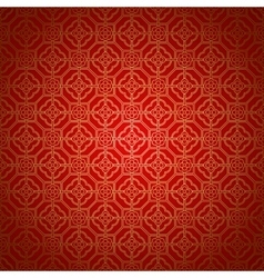 Arabic seamless ornament vector image