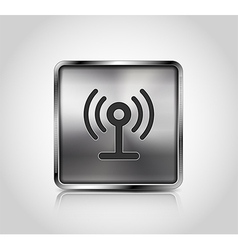 icon wireless connection vector image vector image
