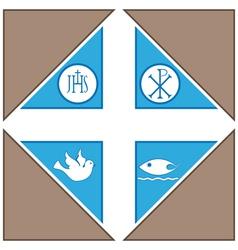 Religius Symbols vector image
