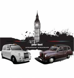 london taxicab vector image