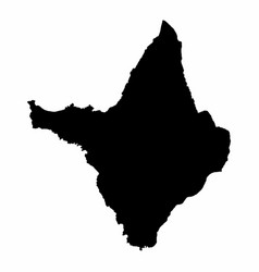 Amapa state map vector