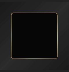 Black plaque vector