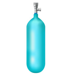 Diving gas cylinder vector