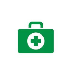First aid icon design template isolated vector