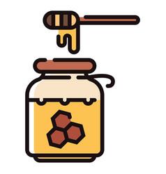 Honey linecolor vector