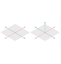 isometric drawing a thirty degreesangle is applied vector image