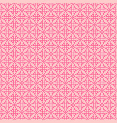 Pink tile pattern or seamless background wallpaper vector