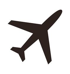 Plane icon vector