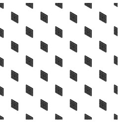 square window frame pattern seamless vector image