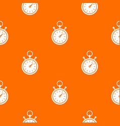 stopwatch pattern seamless vector image