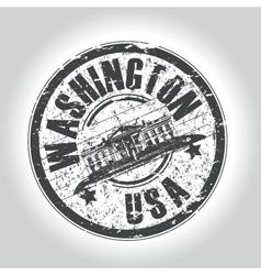 washington vector image