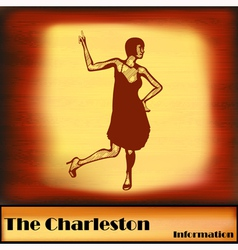 The Charleston vector image vector image