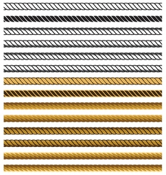Chain rope seamless pattern vector