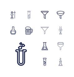13 fluid icons vector