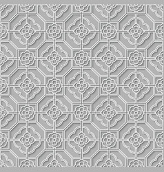 Arabic seamless ornament vector image