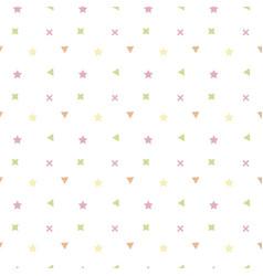 children simple geometry vector image
