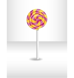 Colorful isolated candy vector image