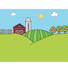 Country Farm vector