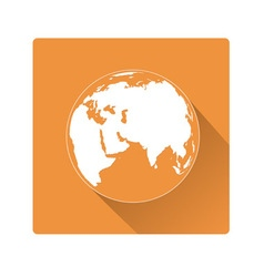 earth symbol vector image