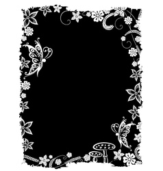Filigree fantasy background vector image