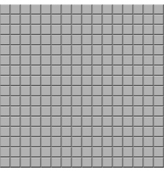 Gray tile texture seamless background vector