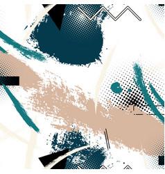 Memphis trendy decoration pattern vector