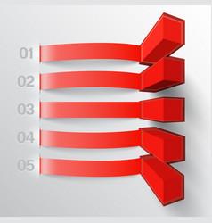 Modern business template vector