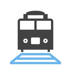 Rail car vector