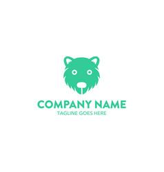 bear logo-17 vector image