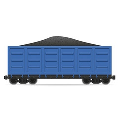 railway carriage 03a vector image vector image