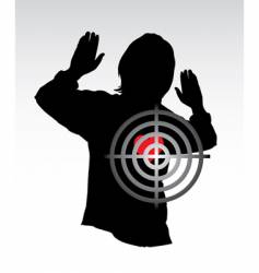 target and heart vector image