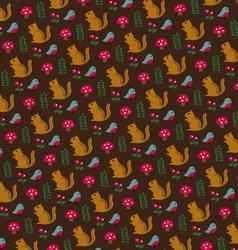 Chipmunk pattern vector