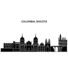 Colombia medellin architecture city vector