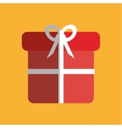 gift icon design vector image